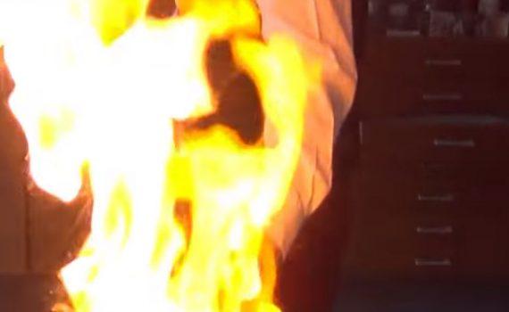 Schoolcooking Flambieren